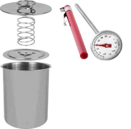 Ветчинница Биовин на 1,5 кг мяса, с термометром
